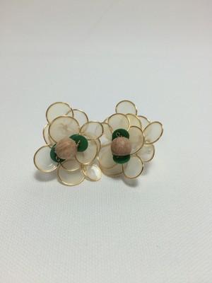 flower jewell ホワイト