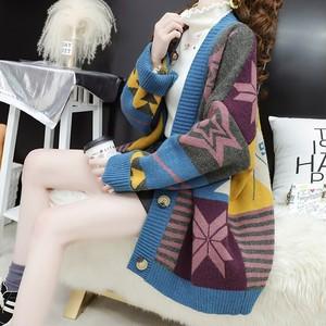 ニット レディース ファッション きれいめ セッター ファッション 着痩せ ゆったり 着やすい 2色ins-1109