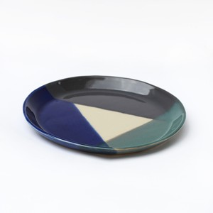 huge ceramics (ヒュージセラミックス) by 堀内大輔 丸皿 4色