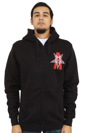 BLACK SCALE(パーカー)Abstract Reality Zip-Up Hoodie Black ブラックスケール 2095