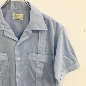 Gentlemen's Quarters : work taste guayabera shirt (used)