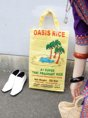 used thailand oasis rice bag