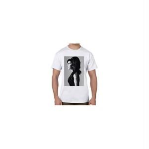 エイミー・ワインハウス Amy Winehouse ソウル、R&Bシンガー プリントTシャツ