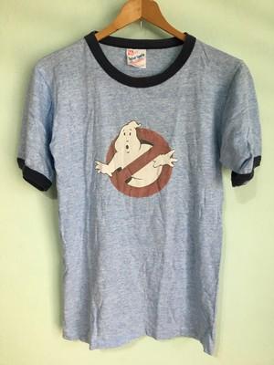 アメリカ製 ビンテージ ゴーストバスターズ 霜降 リンガー Tシャツ / 映画 80s 90s OLD