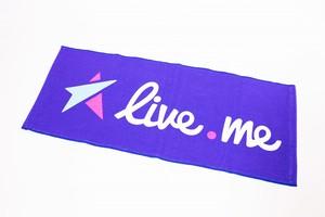 Live.meオリジナルタオル