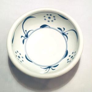 【砥部焼/梅山窯】6寸玉縁鉢(太陽)