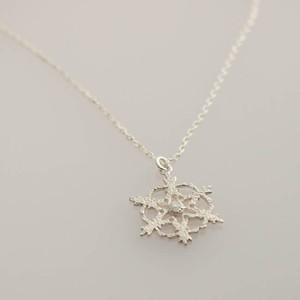 snowflake ネックレス 【FN237】