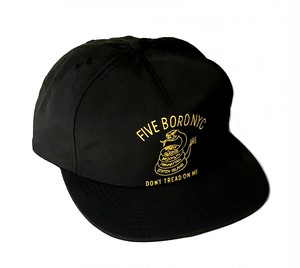 5BORONYC Don't Tread Hat Black
