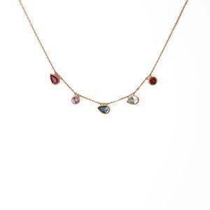 Mystic 5 Stones Necklace