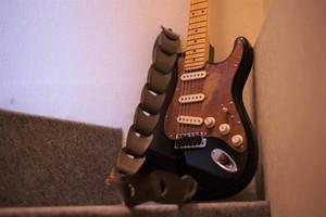 Wellington / cafe mocha【スマートな彼に捧ぐギターストラップ】