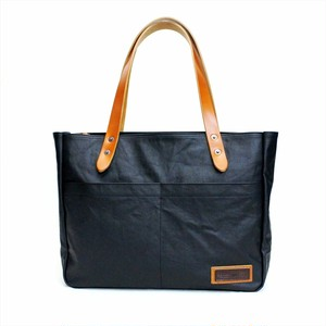 BERMAS 「COMMUTE」 HORIZONTAL ZIP TOTE <BLACK>