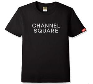 ロゴTシャツ BLACK×WHITE
