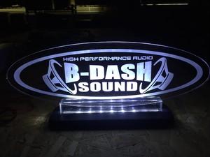 B-DASH SOUNDアクリルプレート