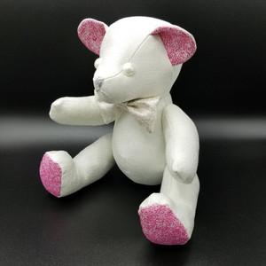 【京都・西陣あさやま】絹香 kinuka フレグランスベア・ピンクホワイト