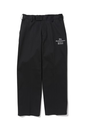 BLACK EYE PATCH / TAILORED PANTS Manufactured by sulvam