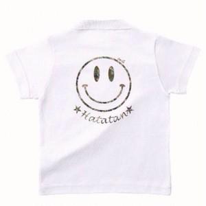 名前入りカモフラニコちゃんTシャツ