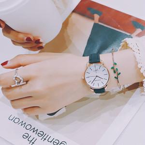 【小物】レトロシンプル植物防水ファション腕時計