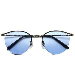 BOSTON CLUB ボストンクラブ / BART Sun / 01 Titanium- Light Blue Lenses チタンカラー-ライトブルーレンズサングラス