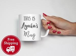 クリスマスプレゼントに♪ 名入れマグカップ │お誕生日