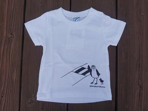 オリジナルTシャツ「シロハラクイナ横断中」子供用