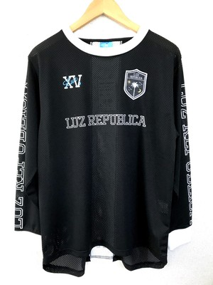 LUZeSOMBRA LUZ REPUBLICA MESH LONG SLEEVE「BLK」