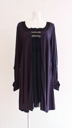 HISUI Silk Dress