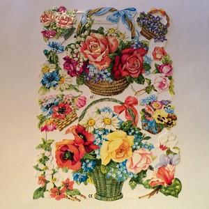 ドイツ クロモス 花かご
