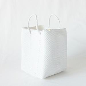 Letra - メルカドバッグ/バケット SHORT HANDLE VER - White