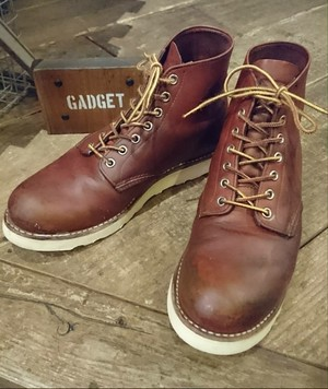 USED RED WING WORK BOOTS