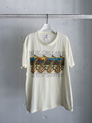 made in USA vintage instrument print Tshirt