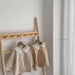 【新作】lace-sailor shirt