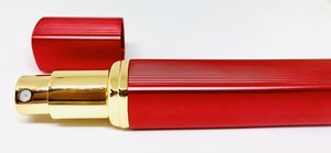 旅行先で香水アロマ♪ 携帯用スプレーボトル 12ml -レッド-