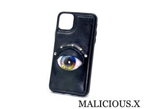 eye iPhone 11 Pro MAX & Card case / rainbow