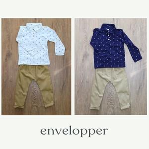 子供服 セットアップ ポロシャツ+パンツ 男の子 2点セット カジュアル系