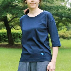 CSTS-144 オーガニックコットンyoga wear +(プラス)5分袖Tシャツ