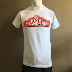 HIGH! STANDARD SIGNBOARD SS TEE WHITE