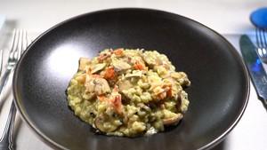 オマール海老とトリュフのえんどう豆リゾット(2セット)