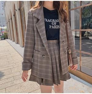 全2色♡レトロ♡ジャケット+スカートの2点セット♡