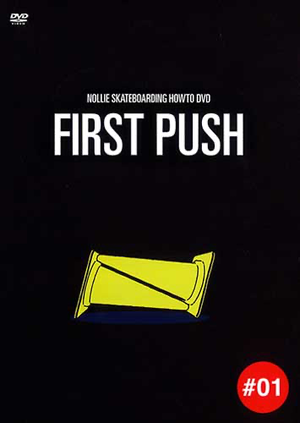 FIRST PUSH how to skateboarding DVD