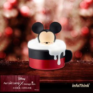 InfoThink Disney ディズニー 小物入れ付ランプ ミッキー iAL-100 (Mickey)