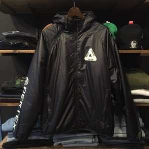【palace skateboards】-パレススケートボード-PERTEX QUANTUM JACKET BLACK
