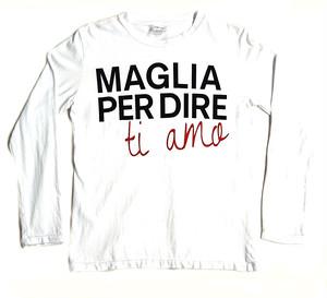 MAGLIA(マリア) ロンT Ti amo ホワイト