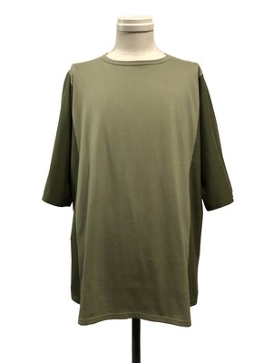 ARMHOLELESS SHORT SLEEVES - OLIVE / LIGHT OLIVE -