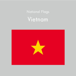 国旗ステッカー ベトナム