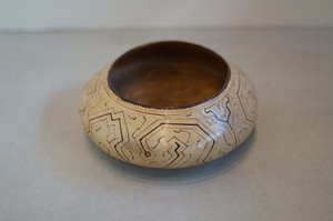 Shipibo Pottery Bowl L