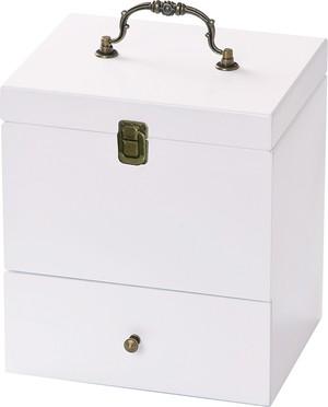 コスメボックス ミア 化粧品収納ケース メイクボックス