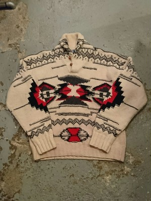 "POLO RALPH LAUREN ""NATIVE HAND KNIT"""
