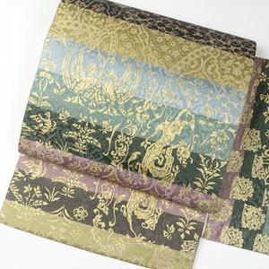 横段 正絹袋帯【1616】
