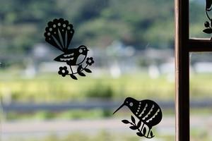 NewZealand Birds ペーパーカット