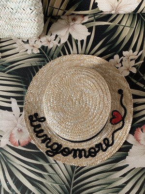 LUNGOMARE HAT Boater Flat
